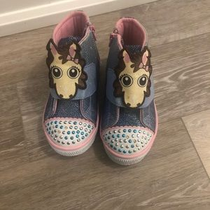 Toddler sketcher shoes